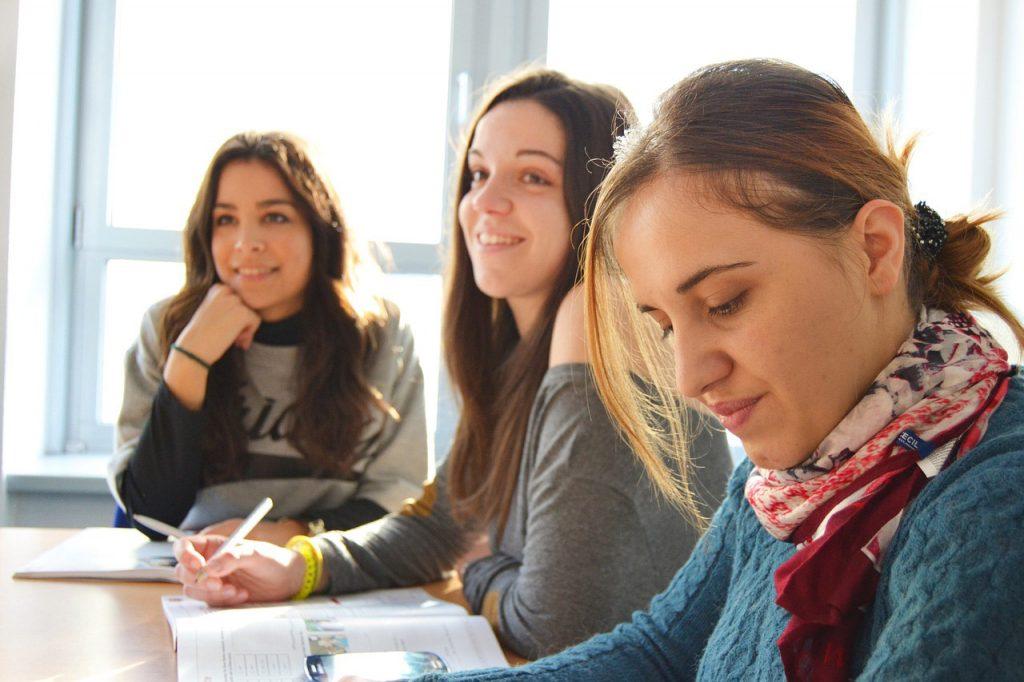 szkoła - uczennice